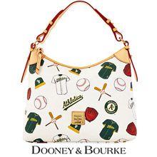 Oakland Athletics MLB Hobo by Dooney & Bourke