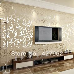 Wallpaper Ideas For Living Room Feature Wall Cabinets Modern Walls Full Free Hd Wallpapers Smykowski Papel De Parede Para A Sala