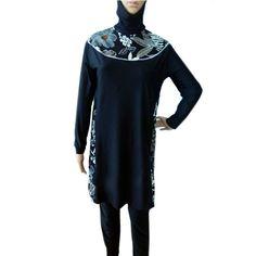 01dbc152a1b7e Muslim Swimsuit Womens Swimsuit Burkini Burkini #fashion #women #trends  #moda #swimwear
