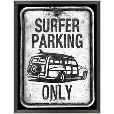 Surf Parking Only