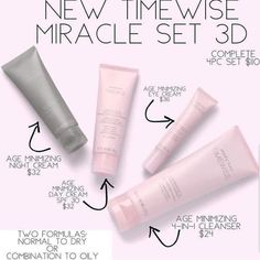 IT'S HERE! Today I can FINALLY announce the secret I have been keeping for months! The BIGGEST thing to happen to skin care in nearly 20 years arrives TODAY!! The new Timewise Miracle Set 3D is here and the results are stunning! I can order May 10! #marykay #mymklifepic.twitter.com/bVmtZMp6t3
