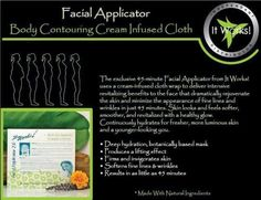 It Works Facials! I like to say facials are facelifts in a box! It Works Wraps, My It Works, It Works Facials, Face Wrap, Ultimate Body Applicator, It Works Products, Cream Contour, Crazy Wrap Thing, Body Wraps