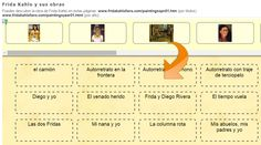 Obras de Frida #Kahlo ► http://LearningApps.org/539337