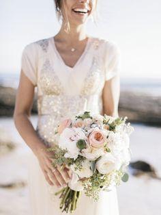 Seaside Wedding in Newport Beach: http://www.stylemepretty.com/2014/06/02/glittering-seaside-wedding-in-newport-beach/ | Photography: Amy Jo Royall - http://amyjoroyall.com/