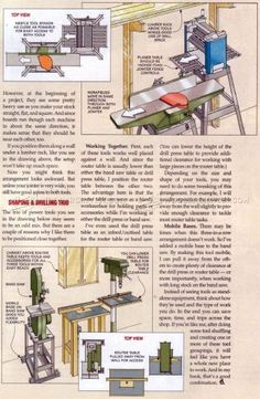 #1419 Small Space Workshop Secrets - Workshop Solutions Plans, Tips and Tricks