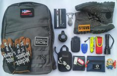 Loadout: Grey EDC Pack  Yusuf Steven, Indonesia, sent us his simple, everyday carry pack loadout. It's not too tactical looking, but covers all the bases.  Goruck GR0    Mechanix Gloves The Original    Notes    Zebra tactical pen    SDI cutter    CRKT eat n tools    Gshock 5600BB    Paracord bracelet    Maxpedition micro pocket    Headset    Palladium Pallabrouse Boots    Leather wallet and gadget pouch    Victorinox Rescue    Flashlight    Medic Pouch DIY    KeyBank    FlashDisk