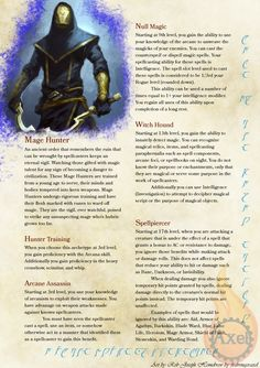 Homebrewed for Dungeons and Dragons Edition. Dungeons And Dragons Classes, Dungeons And Dragons Characters, Dungeons And Dragons Homebrew, Dnd Characters, Fantasy Characters, Fantasy Rpg, Dark Fantasy, Fantasy Heroes, Fantasy Story