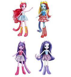 Las Equestria Girls: 6 muñecas con personalidad propia.