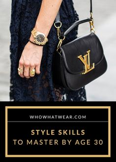 The style skills EVERY woman should master by the age of 30 http://bags-idiscount.com   $76  LOVE it #MK #fashion. Michael kors bags for Christmas.  Must have!!!