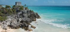 the most beautiful beach in the world - Tulum, Riviera Maya in Mexico