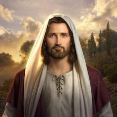 Jesus, The Lamb of God, who takes away the sins of the world. God and Jesus Christ Pictures Of Jesus Christ, Jesus Christ Images, Simon Dewey, Lds Art, Jesus Christus, Jesus Face, The Embrace, The Good Shepherd, Latter Day Saints