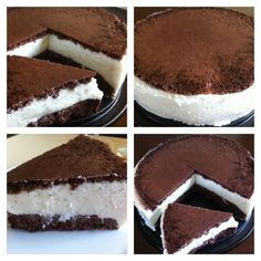 Leckerer Milschnitte-Kuchen, zuckerfrei und ohne Fett.