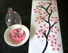 Spring Tree Crafts – 20 Plus Crafts For Kids - A More Crafty Life Kids Crafts, New Year's Crafts, Tree Crafts, Arts And Crafts Projects, Crafts For Teens, Preschool Crafts, Crafts To Make And Sell, Sell Diy, Diy Projects To Sell