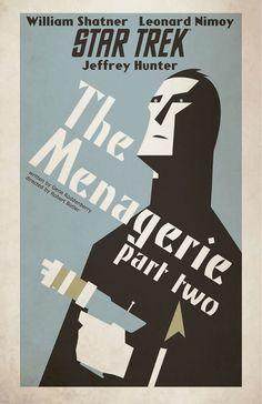 Star Trek - The Menagerie Part Two by Juan Ortiz