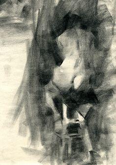 Sarah by Jennifer McChristian Charcoal ~ 14 x 11