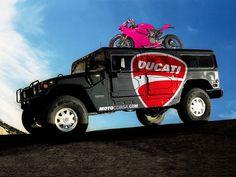 Ducati/MotoCorsa Hummer H1