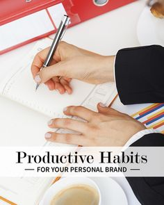Productivity at its finest | Productive habits for your personal brand | Levo | #Personal #Branding