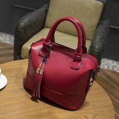 Luxury Brand Handbags Women Bags Designer Women's Genuine Leather Handbags Tassel Ladies Bags For Women Shoulder Chain Bags X43