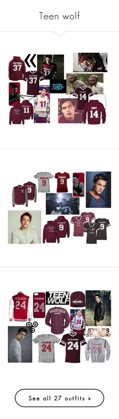 """""""Teen wolf"""" by liloueclair ❤ liked on Polyvore featuring couple, TeenWolf, duo, acteur, personnage, Yumi, Dolce&Gabbana, Betsey Johnson, beauty and Urban Decay"""