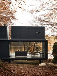 Architecture Homes Outdoor Prefab Houses Exterior Container Home Designs, Prefab Cabins, Prefab Homes, Tiny Homes, Modular Homes, Tiny House Design, Modern House Design, Loft Design, Lofts