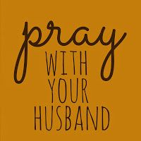 The Importance Of Praying With Your Spouse --- Confession time. In the 13 years since I have been married I have rarely prayed with my husband. While it's true that I have been present when he has prayed, listening intently to his conversation with God, I have not been a part of those prayers. I… Read More Here http://unveiledwife.com/the-importance-of-praying-with-your-spouse/
