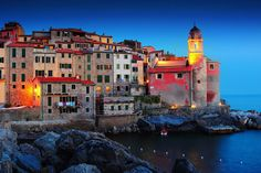 29. An alternative to the tourist-filled region of Cinque Terre, the peaceful village of Tellaro, Italy, is just as beautiful.