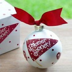 OU Sooners Ornament