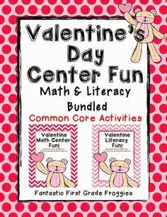 valentine's day literacy activities for kindergarten
