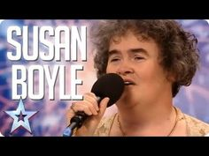 Susan Boyle's First Audition 'I Dreamed a Dream' Music Sing, I Love Music, Good Music, Britain's Got Talent, Talent Show, Les Miserables Songs, Celtic Thunder, Types Of Music, Greatest Songs
