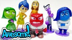 Disney Pixar Inside Out Toys Play Doh Orbeez Giant Surprise Egg Sadness ...