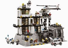 Lego City Police Station, there's lots of cool Lego police sets to check out, but this is definitely one of my favs.