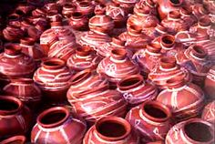 Clay craft centres of Himachal Pradesh are basically located in the areas like Kangra, Mandi, Kulu, Chamba, and Shimla where the communities of many migrated potters reside for decades. In Himachal Pradesh potters enjoy a relatively higher standard of living. This is because there is still a demand for earthenware vessels and there is a strong tradition of using clay figures and vessels for ritual occasions.