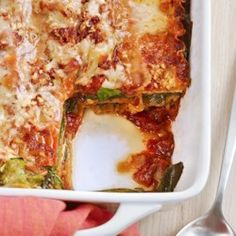 Lasagna with Slow-Roasted Tomato Sauce - EatingWell.com