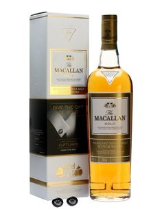 Macallan Gold - Christmas 2014 - very smooth, dark chocolate and oak with a lingering spiciness.