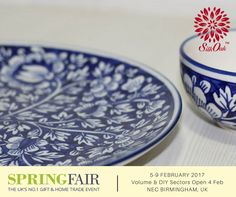 The Spring Fair 2017 is from 5th-9th February, 2017, at NEC Birmingham, UK. Silkoak Global is the official Handicraft Participant at the fair. Find us at the Department of International Trade, DIT Stall. #SpringFair2017 #gift #HomeTrade #B2B #ceramic #homedecor #handicraft #UK #lifestyle