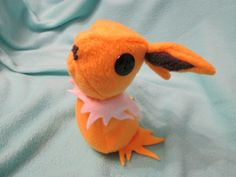 #Cute #Jolteon #Pokemon #Plushie by Khelekmir on Etsy #kawaii #eeveelution #eevee #yellow #electricity #electric #lightning #plush #doll #stuffed #animal