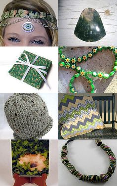 Green Gypsy by Coco on Etsy--Pinned with TreasuryPin.com