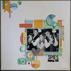 Spies Like Us - Scrapbook.com