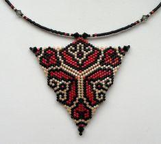 Треугольник к браслету | biser.info - всё о бисере и бисерном творчестве