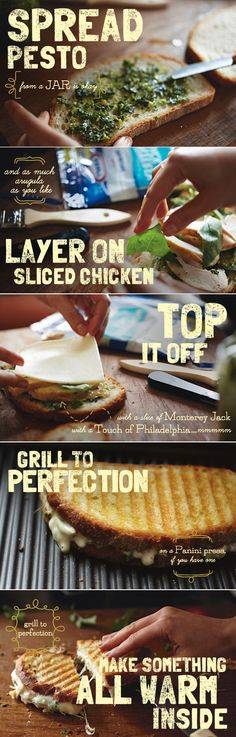 Uses for the panini press | Food! | Pinterest | Panini Press, Paninis ...