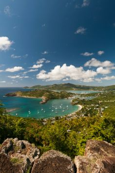 English Harbour and Falmouth Harbour, Antigua, Caribbean. by  Sergio Pitamitz