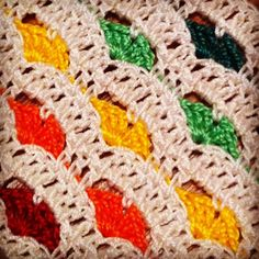 #Tutorial - Very pretty #crochet #hearts #stitch.
