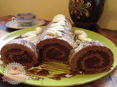 Márványos csokoládés keksztekercs