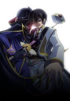 Suzaku Kurugi & Lelouch Lamperouge   Code Geass   anime & manga