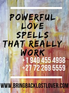 I cast powerful love spells to bring back lost lovers and bind them Spells That Really Work, Love Spell That Work, African Voodoo, Spells For Beginners, Bring Back Lost Lover, Country Dates, Powerful Love Spells, Spiritual Power, Winning The Lottery