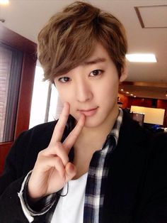 "Twitter / Kevinwoo91: ""V"" for Valentine lol will you be mine? :)"