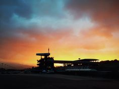 Sunset @ Mugello Circuit