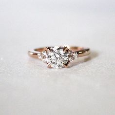 Merry & bright. Melody Diamond Ring - Brilliant Earth