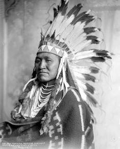 Dick Washakie. Shoshone. 1899. Photo by Rose & Hopkins.
