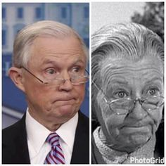 I KNEW Republican Jeff Sessions looked familiar!!! But I still love Irene Ryan, and Southern accents, and good people wherever they are.